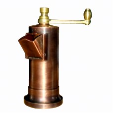 Cast brass vintage look pepper mill  5,3″ #410
