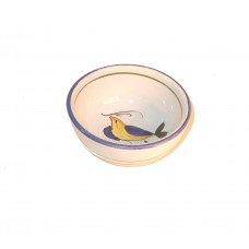 Tuscan Yellow Bird Oil Dipping bowl