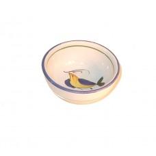 Tuscan Yellow Bird Oil Dipping bowl